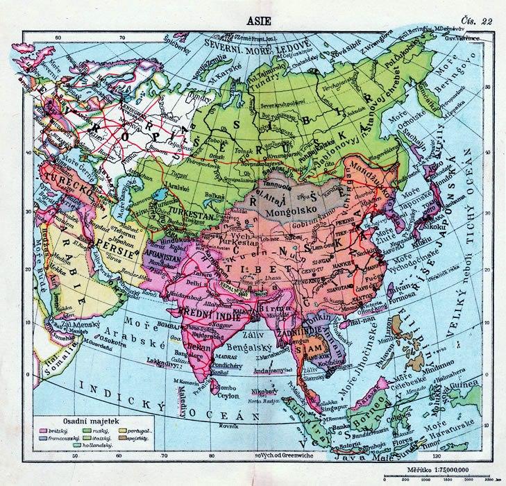 mapa-asie